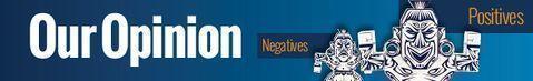 Negative Positive Banner