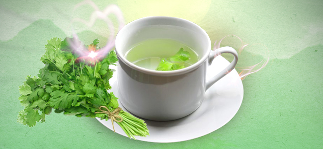 Make A Tea With Coriander And Use It As A Spray