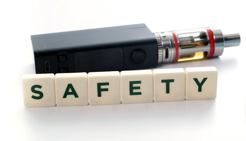 Safety e-cigarettes