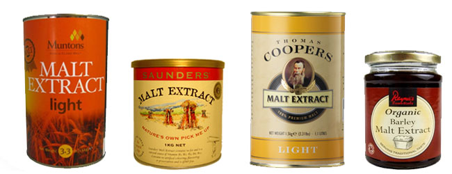 Beer malt extracts