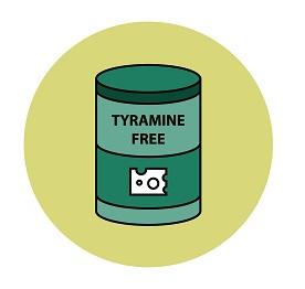 No Tyramin dieta