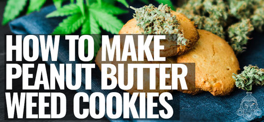 Peanut Butter Weed Cookies - Stoney