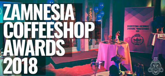 Zamnesia Coffeeshop Award - Cannabis Liberation Day 2018