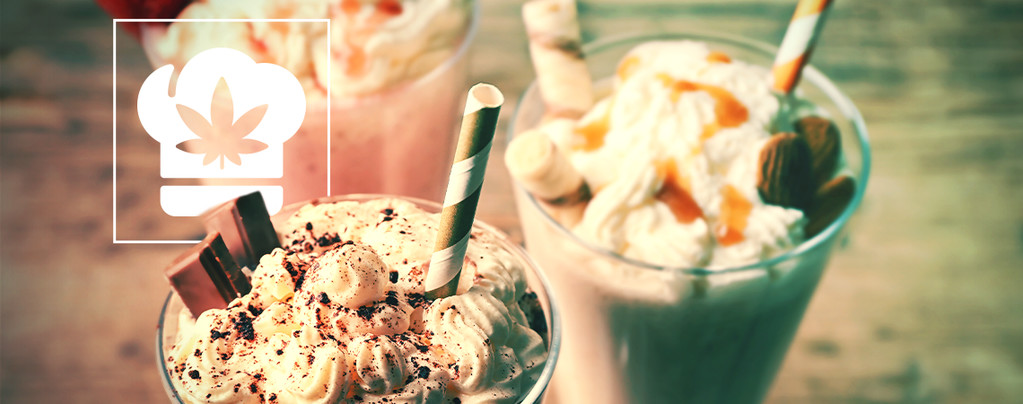 COME FARE UN MILKSHAKE DI CANNABIS
