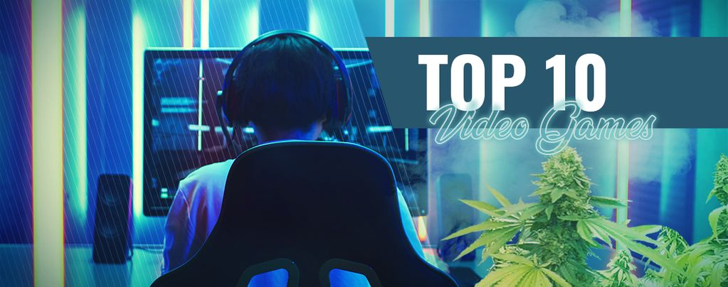 The Top 10 Video Games To Play While High