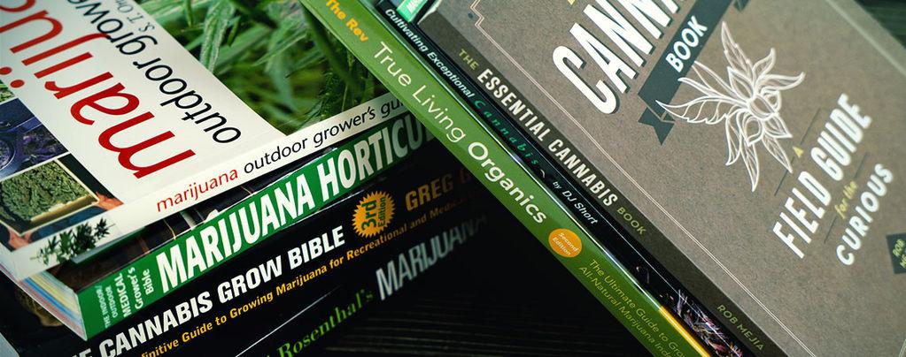 Top 6 Cannabis Growing Books