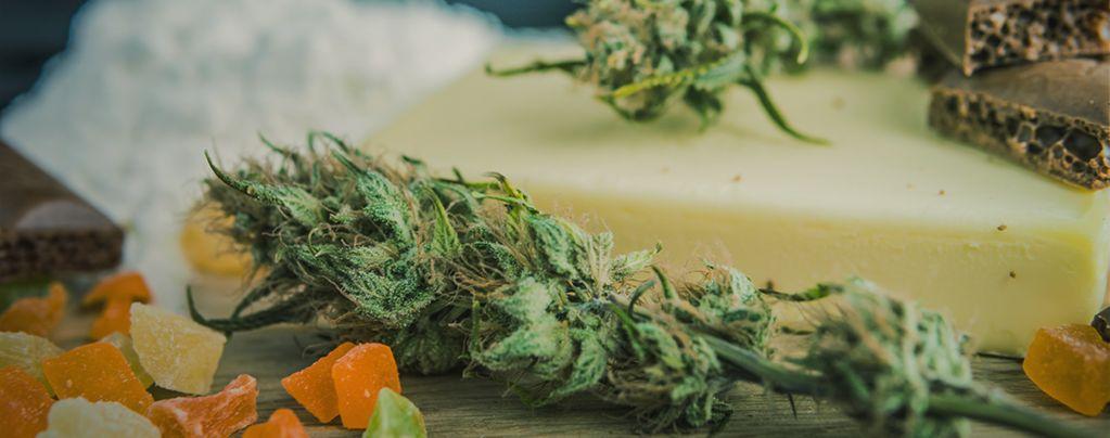 Essbarer Cannabisprodukte