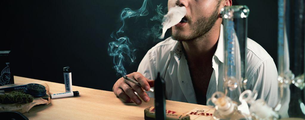 Holding Marijuana Hit Get You Higher