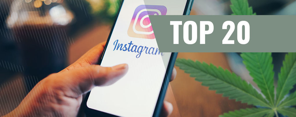 Instagram-Profile Über Cannabis