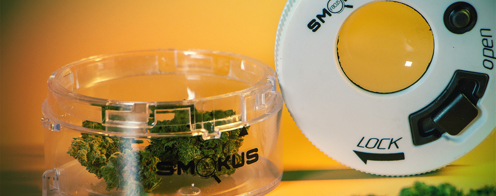 Conserva la Cannabis Come Un Professionista Con I Contenitori Smokus Focus