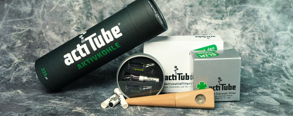 ActiTube: Carbone Attivo Per Una Fumata Extra-Pulita