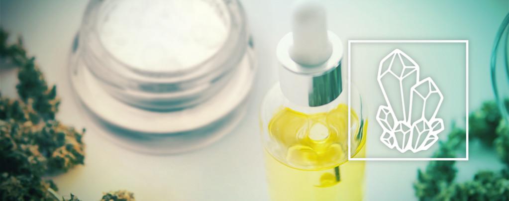 CBD Oil With CBD Crystals