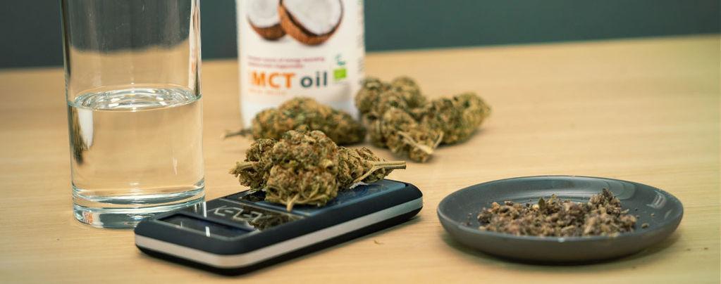 Olio Di Cocco Alla Cannabis