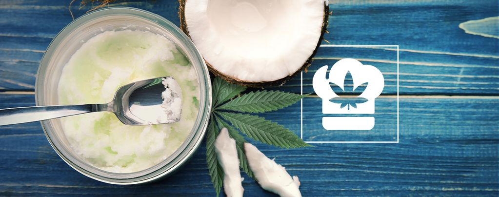 Cannabis Kokosfett