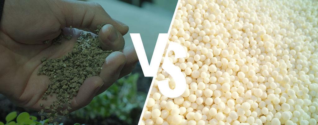 Differenze tra fertilizzanti sintetici e naturali