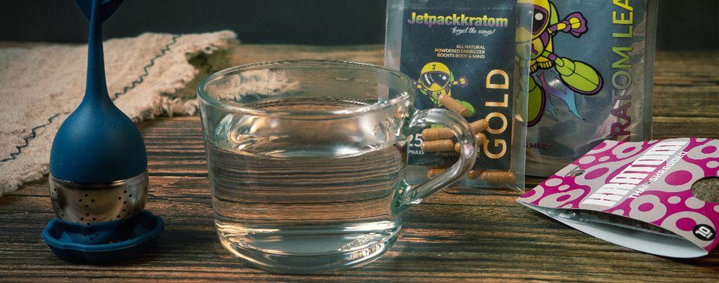 Come fare un delizioso tè di Kratom
