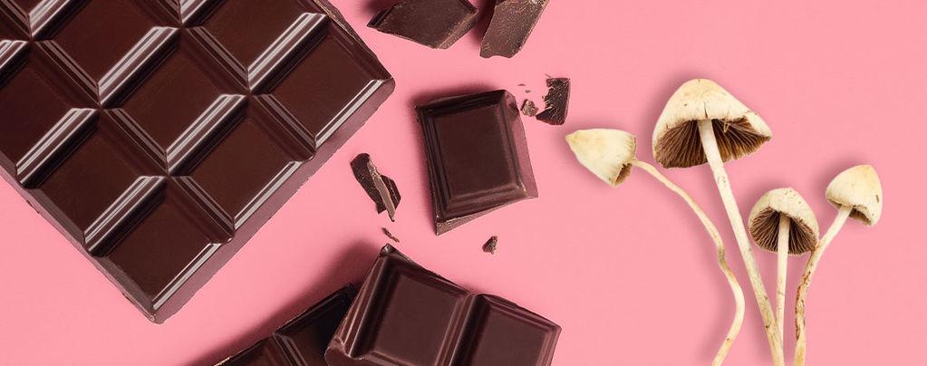 3 semplici ricette per fare il cioccolato ai funghi magici