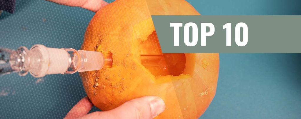 Top 10 Creative Makeshift Bongs & Pipes