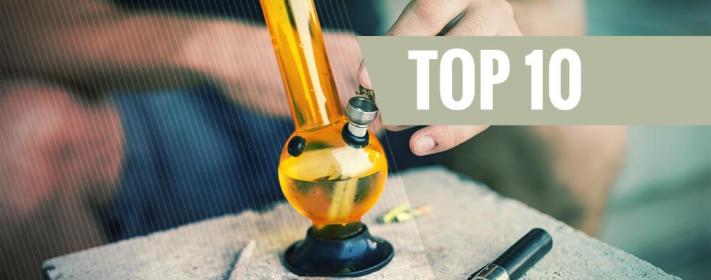Die Top 5 der kuriosisten Bongwasser-Alternativen