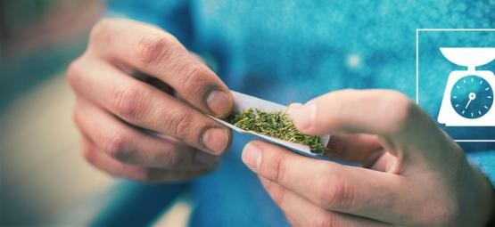 This Is How Much Weed Is In the Average Joint?