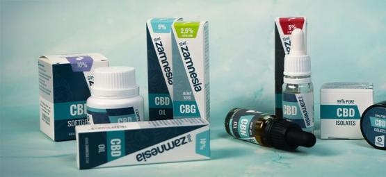 Top 5 Zamnesia CBD Products