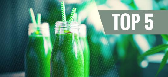 Top 5 Cannabis Drinks You Can Make Yourself