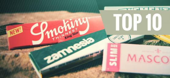 The 10 Best Rolling Papers
