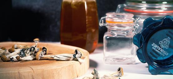 Blue Honey: Hallucinogenic Honey With Magic Mushrooms