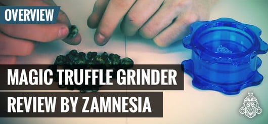 Introducing The Zamnesia Truffle Grinder