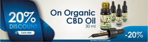 CBD Oil (organic) 30ml
