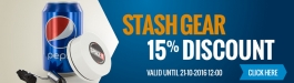 15% Discount Stash Gear