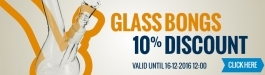 10% Discount Glass Bongs