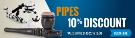 10% Discount Pipes