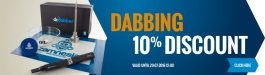 10% Discount Dabbing