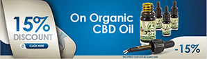 15% Discount Organic CBD Oil