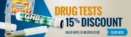 15% Discount Drug Tests