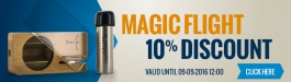 10% Discount Magic Flight Launch Box