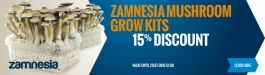 15% Discount Zamnesia Grow kits