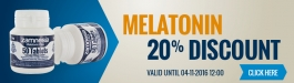20% Discount Melatonin