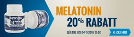 20% Rabatt Melatonin