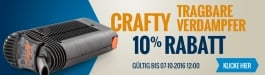 10% Rabatt Crafty
