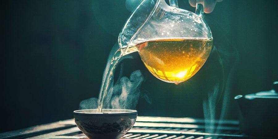 Making Kanna Tea