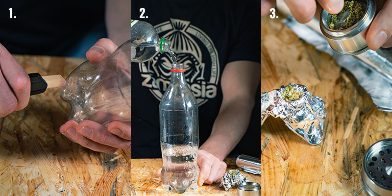 Instructions for Making a Waterfall Gravity Bong