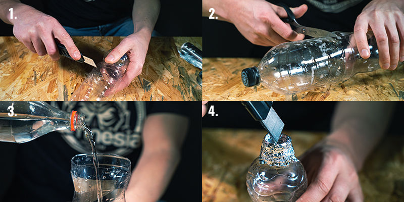 Instructions for Making and Using a Bucket Gravity Bong