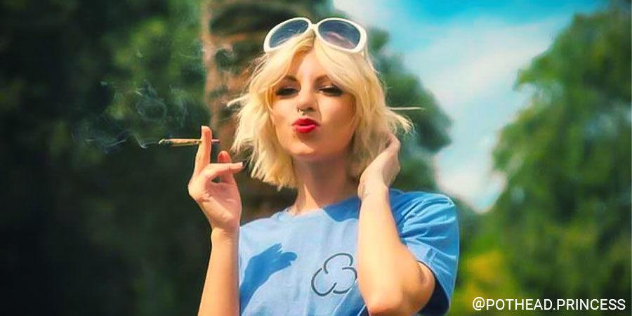 Top Female Cannabis Influencers On Instagram: @pothead.princess