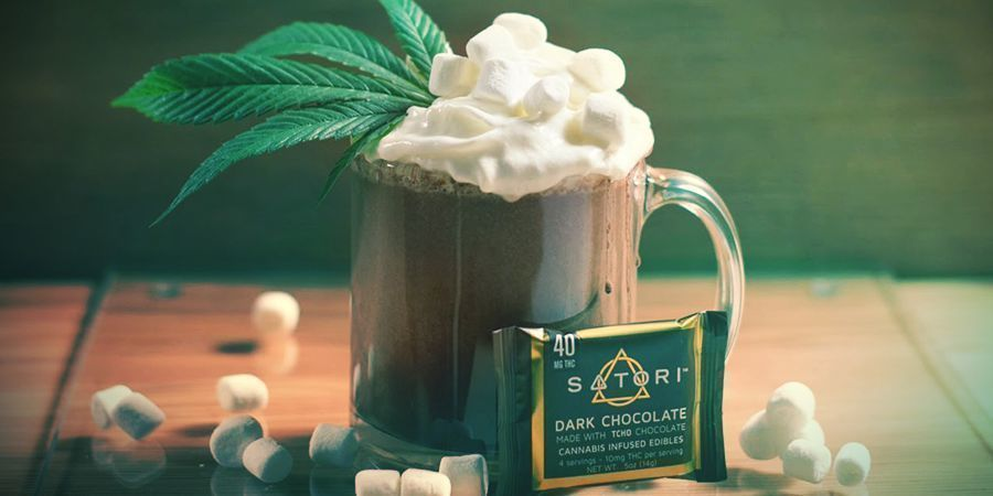 Cannabis Hot Chocolate