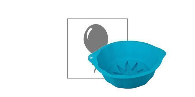 Silly Silicone Cake Mold Weed Leaf