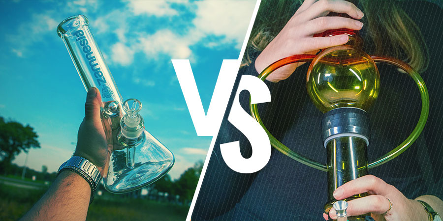 Different Types Of Bongs: Glass Vs. Acrylic