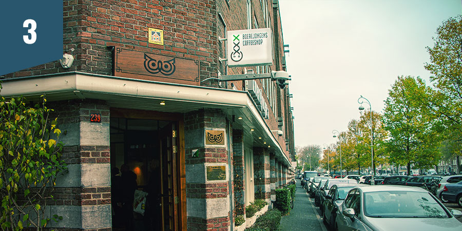 Boerejongens Coffeeshop Amsterdam - Best CBD Products
