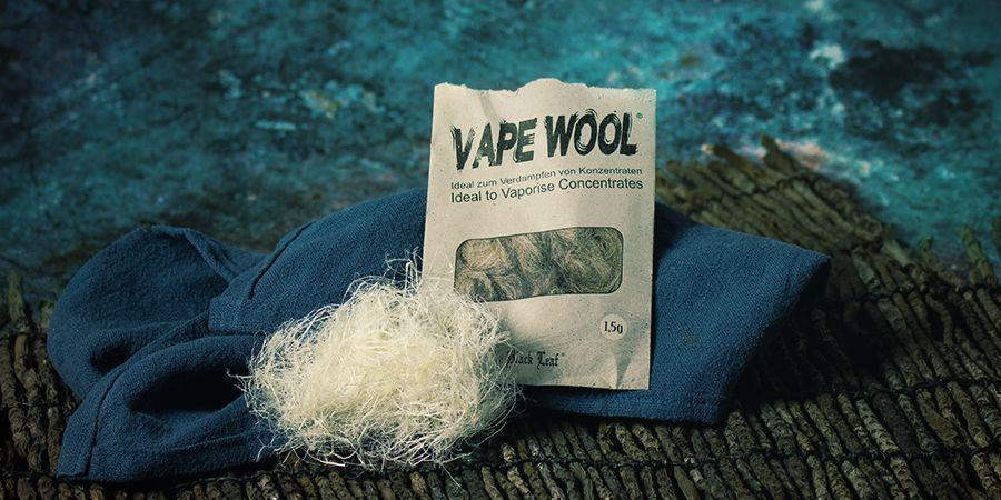 Vape Wool Degummed Hemp Fibres